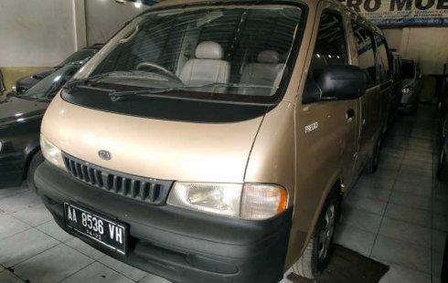 Dijual mobil bekas Kia Pregio SE Option 2001, DIY Yogyakarta