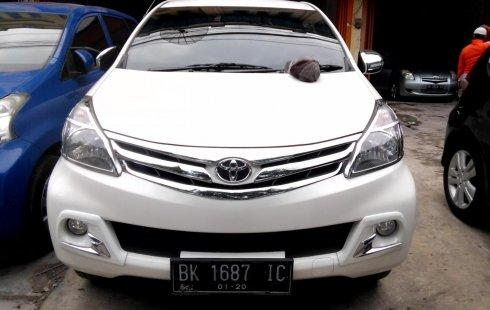 Sumatera Utara, dijual mobil Toyota Avanza G 2014 bekas