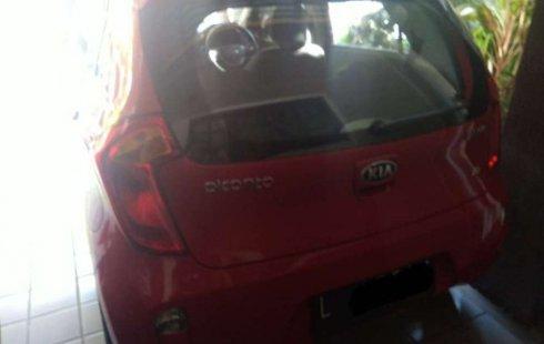 Mobil Kia Picanto 2014 SE terbaik di Jawa Timur