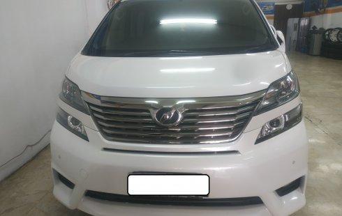 Jual mobil Toyota Vellfire Z 2010 murah di DKI Jakarta