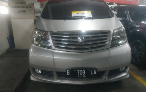 Jual mobil Toyota Alphard G 2005 harga murah di DKI Jakarta