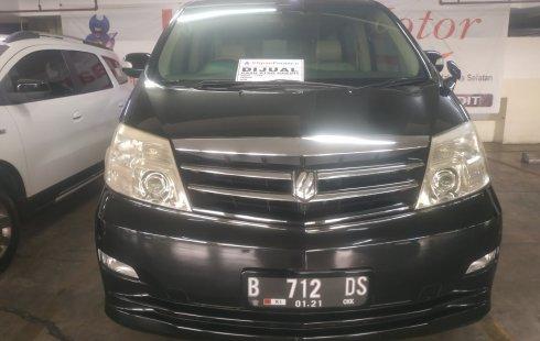 Jual mobil Toyota Alphard V6 3.5 AT 2005 bekas di DKI Jakarta