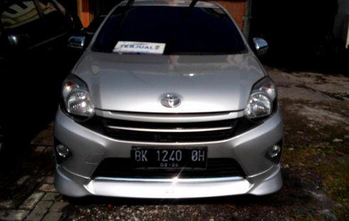 Jual mobil bekas Toyota Agya TRD Sportivo 2014, Sumatra Utara