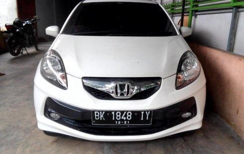 Sumatra Utara, Jual cepat Honda Brio E 2013 bekas