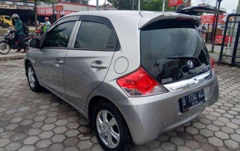 Jual cepat Honda Brio Satya E 2018 di Riau