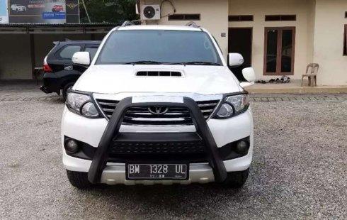 Mobil Toyota Fortuner 2013 G terbaik di Riau