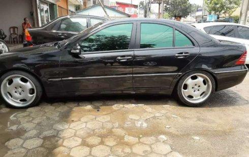 Mercedes-Benz C-Class 2002 Banten dijual dengan harga termurah