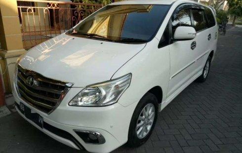 Mobil Toyota Kijang Innova 2014 V terbaik di DIY Yogyakarta