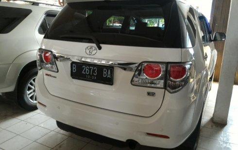 Jual mobil Toyota Fortuner G 4x4 VNT 2013 dengan harga murah di DKI Jakarta