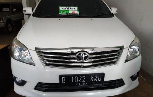 Jual mobil terbaik Toyota Kijang Innova 2.0 G 2013, DKI Jakarta
