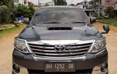 Jambi, Toyota Fortuner TRD 2012 kondisi terawat