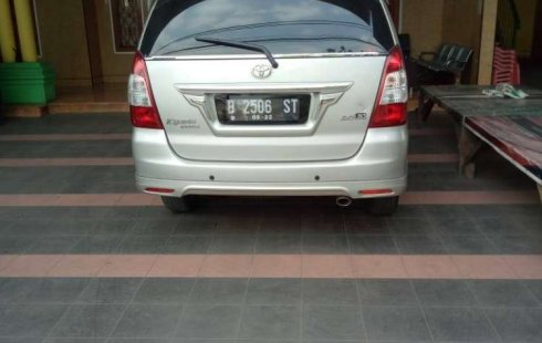 Jual Toyota Kijang Innova 2.0 G 2012 harga murah di DKI Jakarta