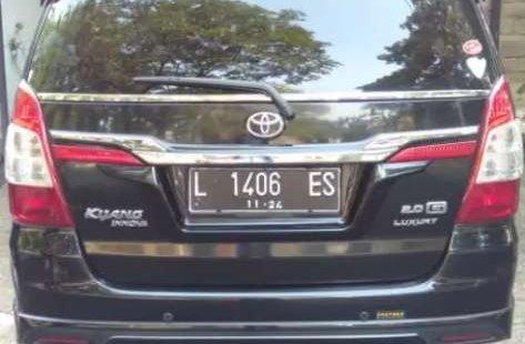 Jual mobil bekas murah Toyota Kijang Innova G Luxury 2014 di Jawa Timur