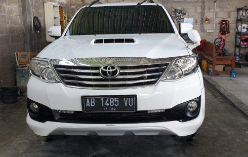 Jual mobil Toyota Fortuner TRD 2013 bekas, DIY Yogyakarta