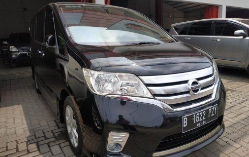 Dijual mobil bekas Nissan Serena Highway Star AT 2013, Jawa Barat