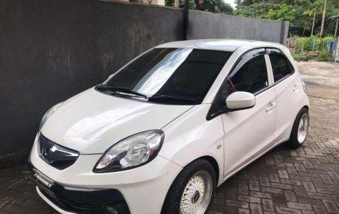 Jual mobil bekas murah Honda Brio Satya E 2014 di Sulawesi Selatan