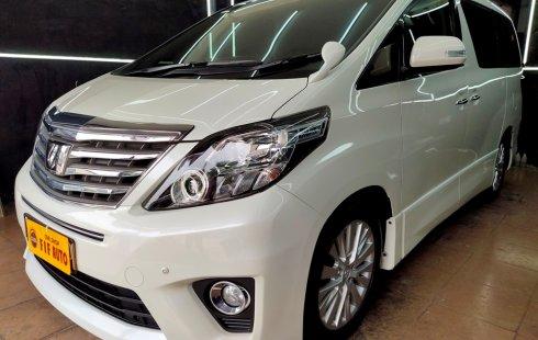 Jual Cepat Toyota Alphard 2.4 S At 2012 Putih di DKI Jakarta