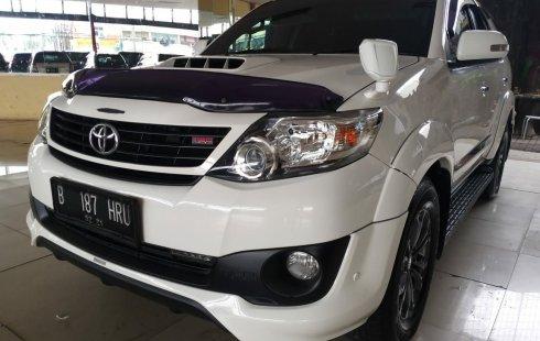 Jual cepat mobil Toyota Fortuner G TRD Sportivo 2016 di Jawa Barat