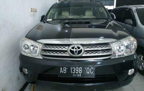 Jual mobil Toyota Fortuner G 2010 bekas di DIY Yogyakarta