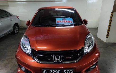 Jual cepat mobil Honda Brio RS 2017 di DKI Jakarta