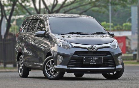 Jual cepat mobil Toyota Calya G 2018 di Banten