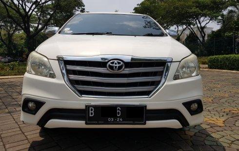 Mobil Toyota Grand Innova 2.4G Diesel AT 2014 dijual, Banten