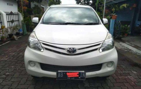 Mobil Toyota Avanza 2013 E terbaik di DIY Yogyakarta