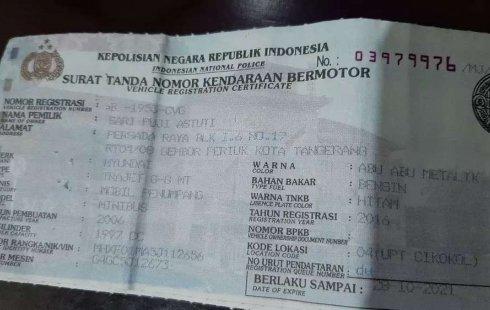 Banten, Hyundai Trajet GL8 2006 kondisi terawat