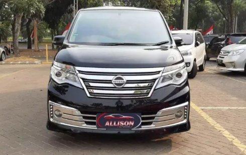 Jual mobil Nissan Serena Highway Star 2015 murah di Banten