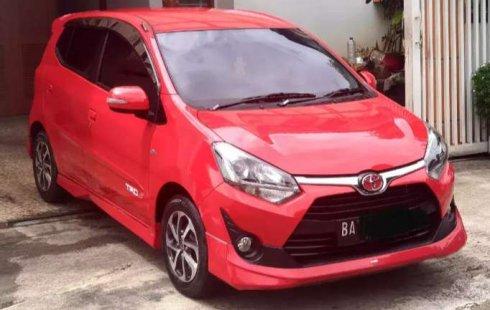 Jual mobil Toyota Agya TRD Sportivo 2017 bekas, Sumatra Barat
