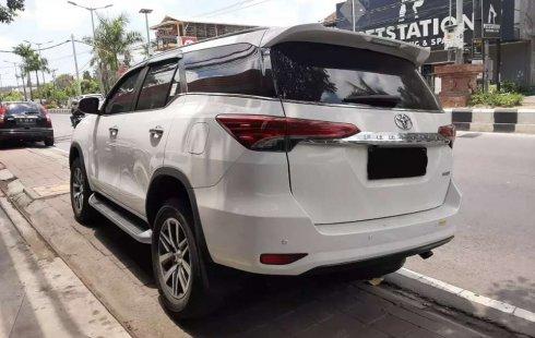 Jual Toyota Fortuner VRZ 2017 harga murah di Bali