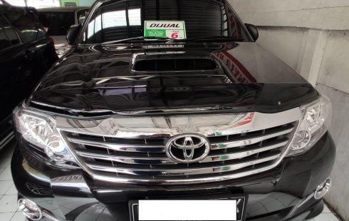 Jual Cepat Mobil Toyota Fortuner G 2012 di Jawa Barat