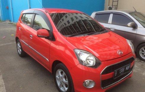 Jual Cepat Mobil Daihatsu Ayla X AT 2016  Merah di Bekasi