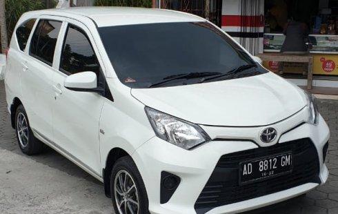 Jual mobil Toyota Calya G 2017 terawat di DIY Yogyakarta