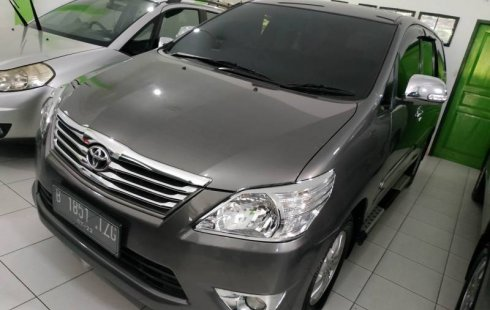 Dijual mobil Toyota Kijang Innova 2.5 G 2012 bekas terawat, DIY Yogyakarta