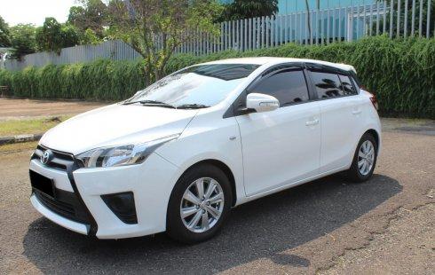 Jual mobil Toyota Yaris E 2016 murah di DKI Jakarta