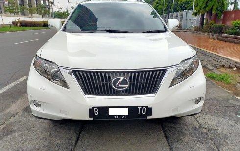 Jual mobil Lexus RX 350 2011 terawat di DKI Jakarta