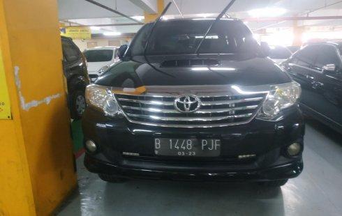 Jual cepat mobil Toyota Fortuner G 2013 di DKI Jakarta