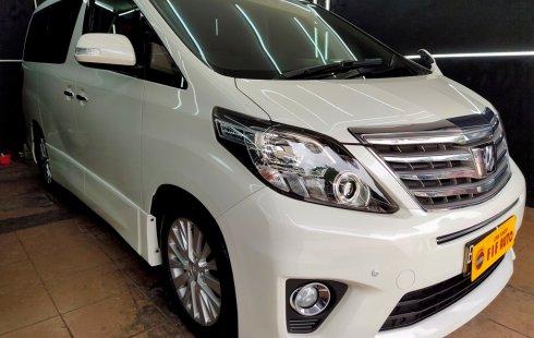 Mobil Toyota Alphard 2.4 S AT 2012 dijual, DKI Jakarta