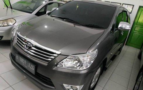 Dijual mobil Toyota Kijang Innova 2.5 G 2012 bekas terbaik, DIY Yogyakarta