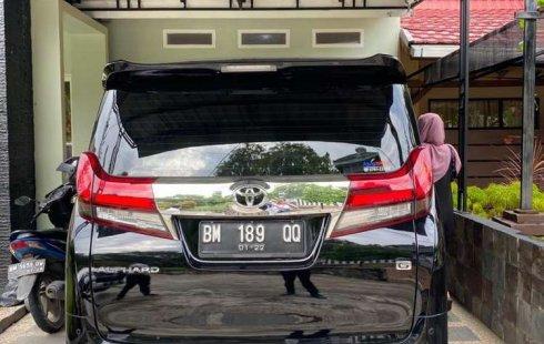 Jual cepat Toyota Alphard G 2016 di Riau