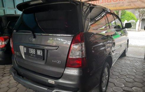 DIY Yogyakarta, dijual mobil Toyota Kijang Innova 2.5 G 2012 bekas