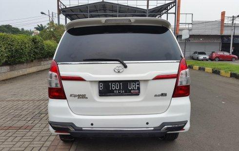 Jual Mobil Bekas Toyota Kijang Innova 2.0 G AT 2014 di DKI Jakarta