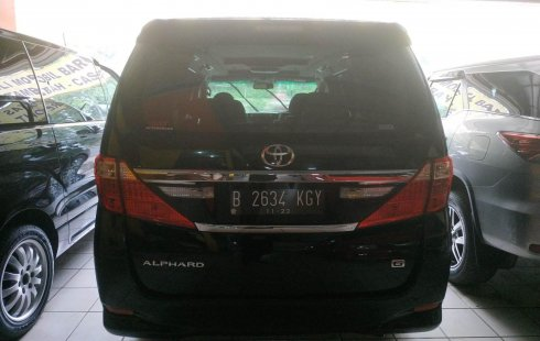 Jual mobil bekas murah Toyota Alphard G ATPM 2012 di Jawa Barat