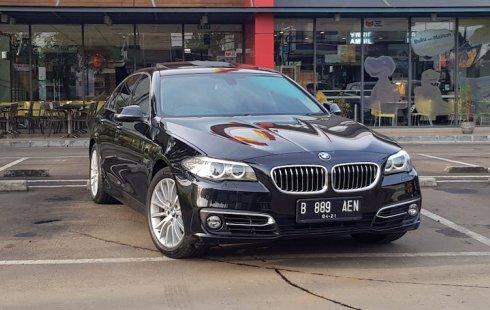 Jual cepat mobil BMW 5 Series 528i F10 LCI Facelift 2014 di DKI Jakarta
