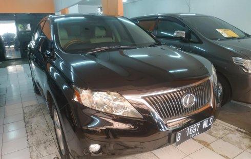 DKI Jakarta, dijual mobil bekas Lexus RX 270 2012 harga murah
