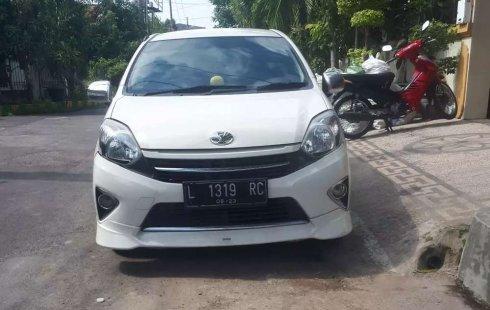 Jual cepat Toyota Agya G 2015 di Jawa Timur
