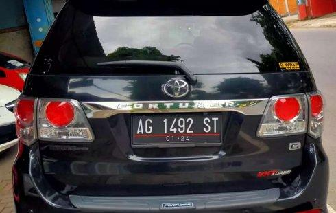 Jual cepat Toyota Fortuner G 2013 di Jawa Timur