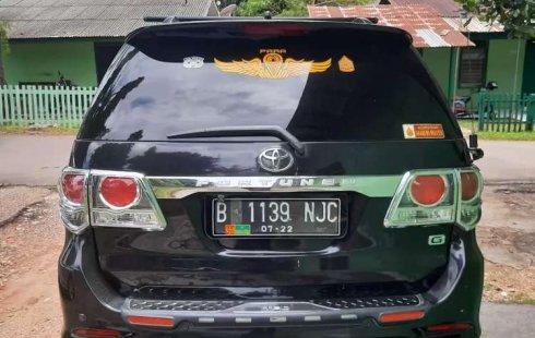 Dijual mobil bekas Toyota Fortuner G, Jambi