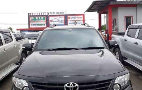 Jual Toyota Fortuner G Luxury 2013 harga murah di Riau
